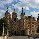 Schloss Schwerin mit Landesparlament von Mecklenburg-Vorpommern