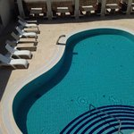 Piscina interna all'hotel