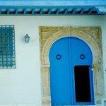 Centro storico: Sidi Bou Said: Tunisia: grata e porta