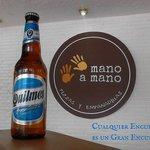 Cerveza Quilmes en Mano a Mano