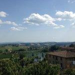 view from Caffe Giardino