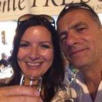 Celebrating our Silver Wedding Anniversary at Ristorante Tre Scaleni on 26.08.14
