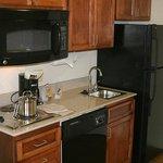 Stove, Microwave, Sink & Full Size Fridge