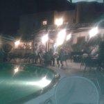 serata a bordo piscina