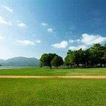 Resort Gardens Overlooking Lake