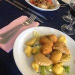 Zuppetta di pesce e frittura all'italiana
