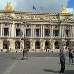 The facade of the Palais Garnier
