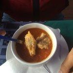 Fish soup ( rybacia polievka). super