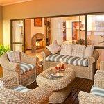 Lounge on deck