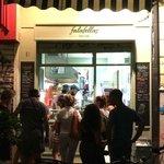 Falafella in the evening