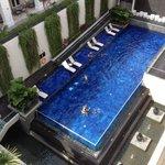 ホテルのプールです