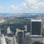 Vista dal Top of the Rock Observation Deck