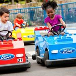 Kids can drive at Legoland!