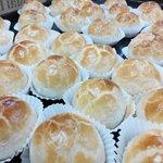 Ham Tan Sou - Lotus paste & egg yolk pastry. Another favorite of Sin Eng Heong, Ipoh