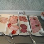 cold meats at breakfast