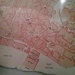 Plano antiguo de Lisboa