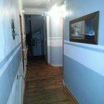 Couloir bien décoré