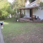 vue du bout de terrasse du cottage