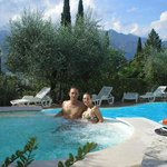 Foto in piscina