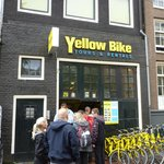 The shop front for Yellow Bike