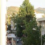 Calle desde la terraza