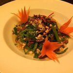 morning glory salad with beef