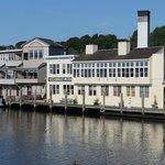 Steamboat Inn taken from drawbridge