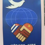 Cuban support poster