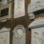 Memorials in the church