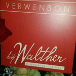 Bij Walther cadeaubon