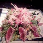 Ensalada de Tataky de atún