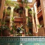 Al Ksar Spa Riad marrakech swimming pool