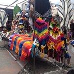 Mercato di plaza dei poncho...