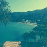La vista sul golfo della Biodola...