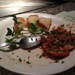 Bruscetta- delicious but not as in Itay