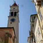 Центр города.Церковь Св.Спиридона