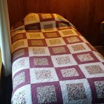 Hand-made quilted bed cover
