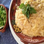 Their amazing bacalhao com natas