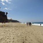 The beach at a Thousand Steps