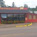 Hughie's Storefront in Grand Marais, Minnesota