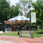 Franklin Park has a snack bar, playground and miniature golf