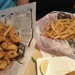 Fried Calamari and Fries