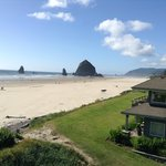 View from the room (Haystack Rock)