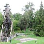 Heritage Waterwheel, New Hamburg, Ontario