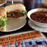 Steiner Burger and Soup