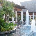 Santuario (ingreso al resort)