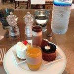 tolle Dessert im Buffet Restaurant Olea