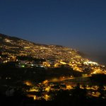 Funchal at night from the balcony