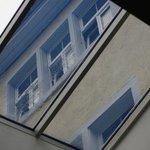 View through a skylight