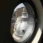 Round window in Suite 505